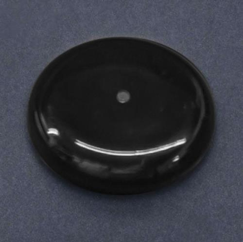 black nylon glide cap