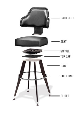 Chair Parts Diagram